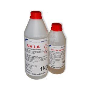 COMPOSITE UV-LA Läbipaistev mittekahanev UV kindel epoksüvaik lamineerimiseks (kuni 4 mm)
