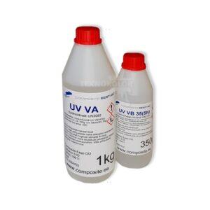 COMPOSITE UV-VA Läbipaistev mittekahanev UV kindel epoksiidvaik valamiseks (kuni 4 cm)