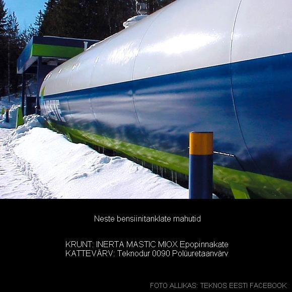 INERTA MASTIC MIOX Kemikaali- ja veetaluvusega epopinnakate rasketesse tingimustesse