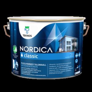 NORDICA CLASSIC Poolmatt keskonnasõbralik majavärv puitpindadele